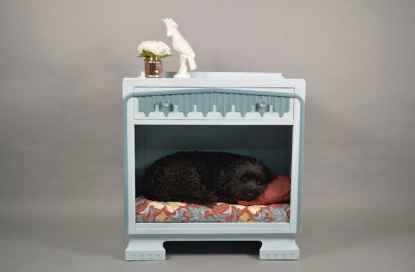 Duck Egg Blue Dog Bed