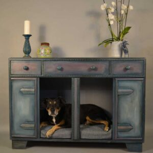 Beautiful Blue Dog Bed Furniture