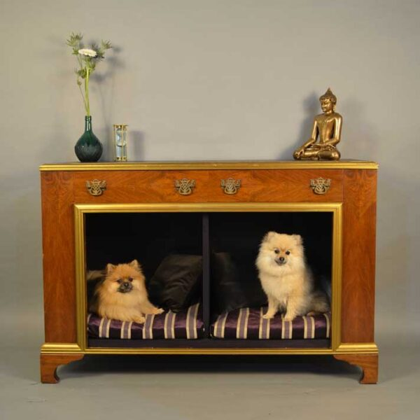 Stunning Dog Bed Cabinet